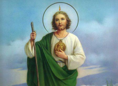 Triduo a San Giuda Taddeo per chiedere una grazia. Il Patrono delle Cause perse
