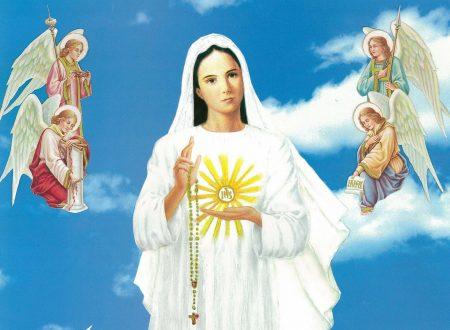 Una preghiera importante davanti a Dio dettata dalla Madonna