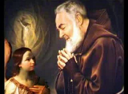 Una preghiera molto bella di  Padre Pio all'Angelo Custode per chiedere una grazia