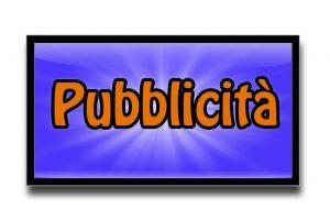 AVVISO: Pubblicità presente nel blog