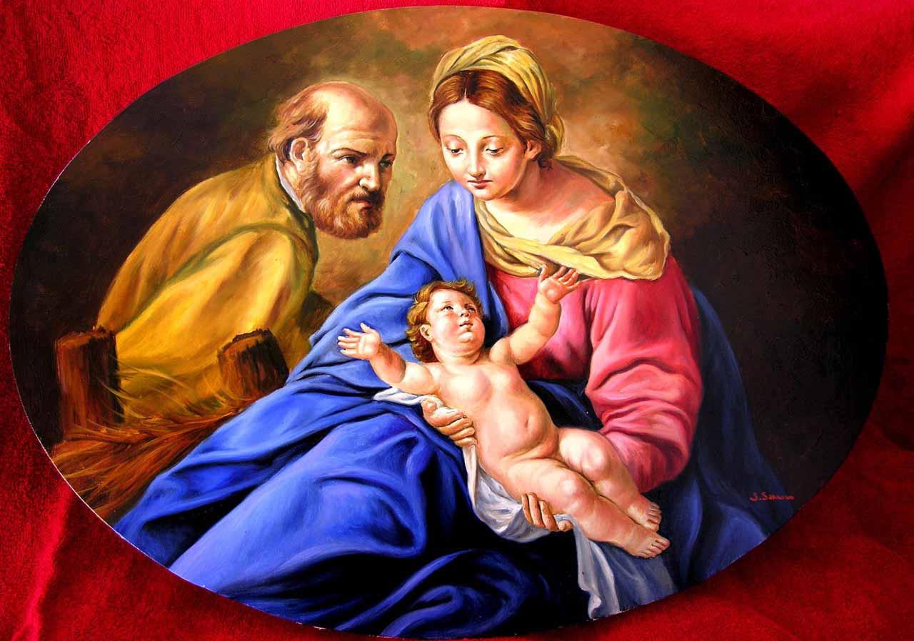 Devozione per proteggersi dalle insidie di satana e for Quadri sacra famiglia moderni prezzi