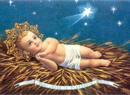 Recita questa coroncina a Gesù Bambino e chiedi una grazia per te importante