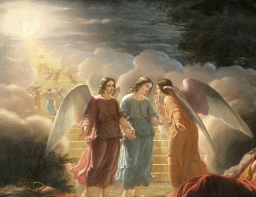 Ecco come gli Angeli Custodi ascoltano la Madre di Dio