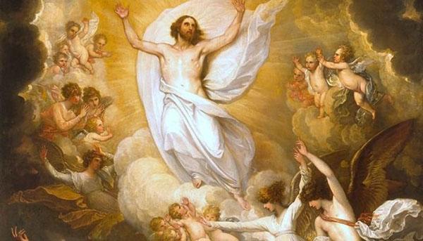 Preghiera dell 39 ascensione a ges per chiedere una grazia - Stampabile la preghiera del signore ...