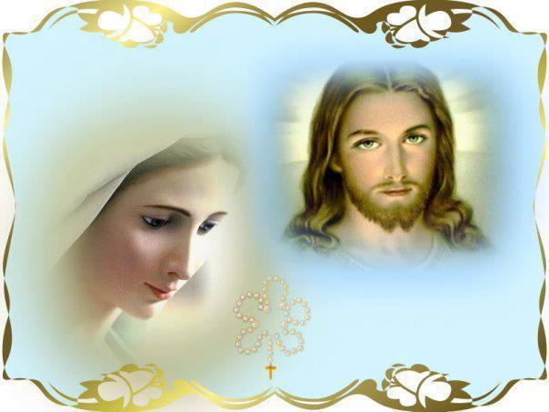 Risultati immagini per Immagini di Gesù e Maria