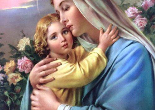Devozione dettata dalla Madonna dove ci promette le gioie del Paradiso