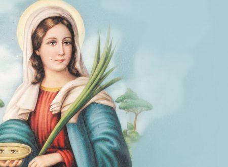 Preghiera a Santa Lucia da recitare oggi per chiedere una grazia
