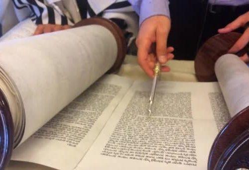 Maombi ya Rosh Hashanah na usomaji wa Torati