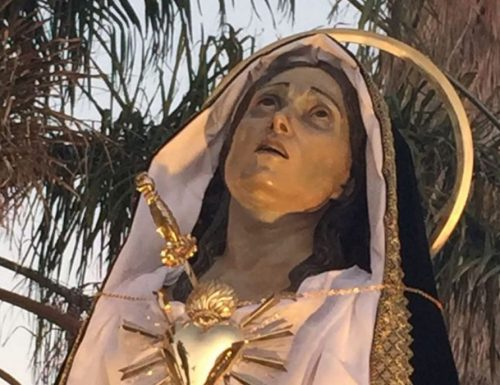 Our Lady of Sorrows ma le faʻamaoni i tiga e fitu