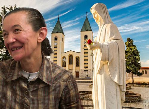 Vicka dari Medjugorje mengungkapkan rancangan Our Lady dan memberitahu semua keinginannya