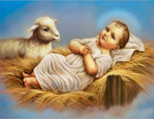 د ورځې وقف: د ماشوم عیسی اوښکې