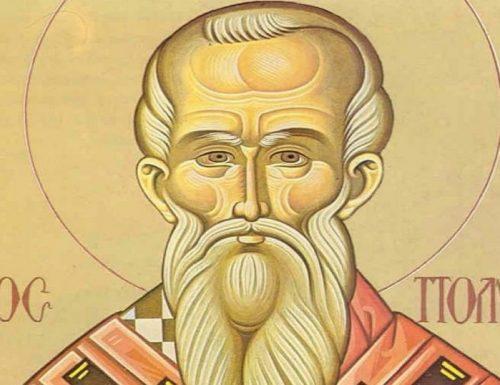 Vita dei Santi: San Policarpo, vescovo e martire