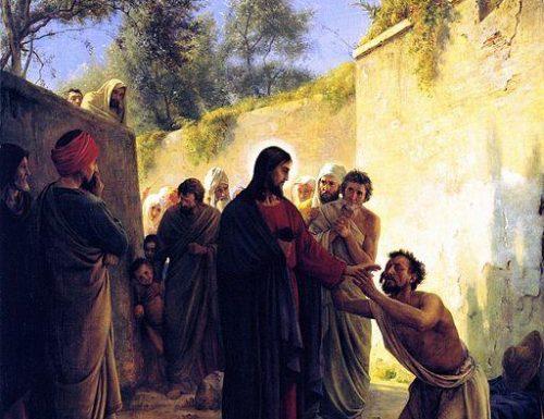 Permetti a Gesù di togliere il male dai tuoi occhi
