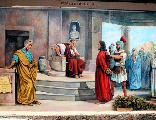 د صلیب انجیل لاره: عیسی په مرګ محکوم شوی
