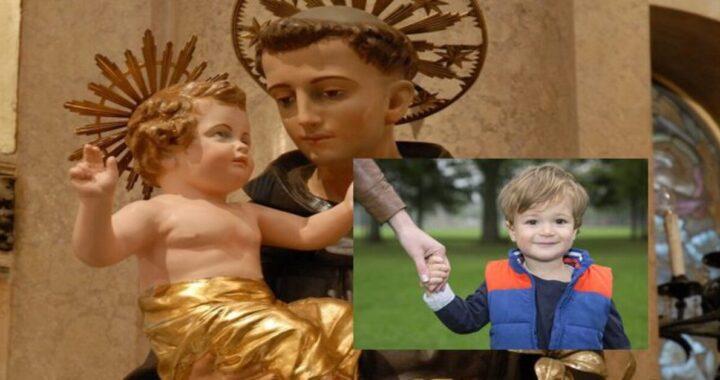 Caserta mio figlio di due anni muto dice mamma dopo che ho pregato Sant'Antonio