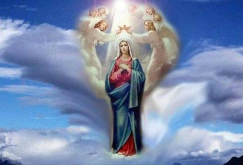 """Једноставна молитва Госпи """"Краљица мајке"""""""