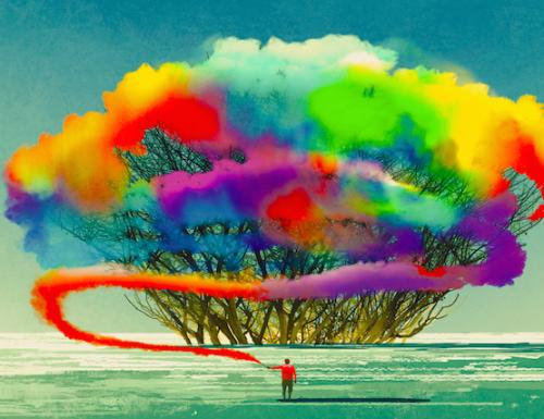 Come essere come un albero: fermo, forte e straordinariamente bello