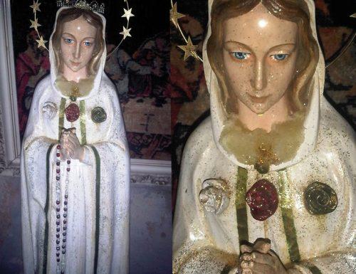 Picha ya Bikira Maria ina mafuta yenye manukato