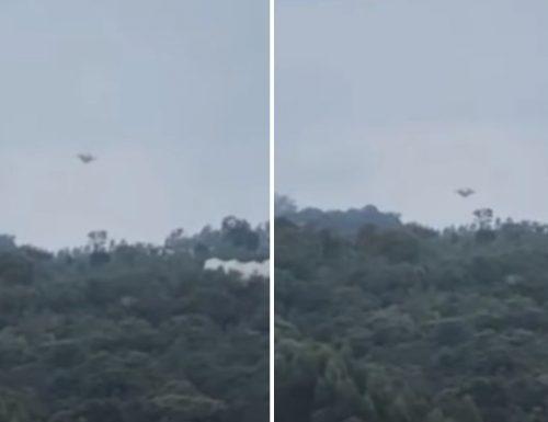 Video ya ajabu ambapo unaona kutua kwa UFO