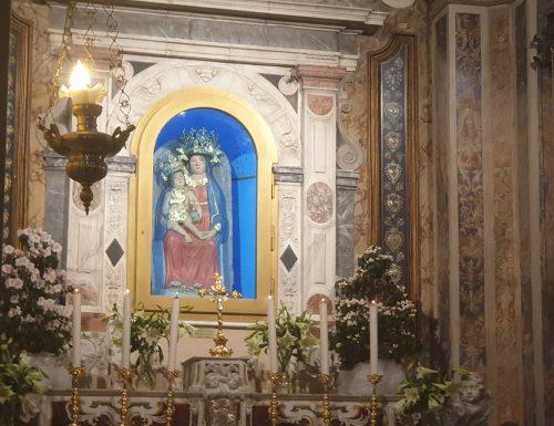Visita al Santuario della Madonna dei latteri per chiudere il mese di Maggio a Maria