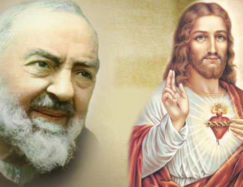 """""""Mgbe m na-ekiri ihe onyonyo nke Padre Pio, Ajụrụ m Friar maka amara"""" Oriakụ Rita natara ọrụ ebube ahụ"""