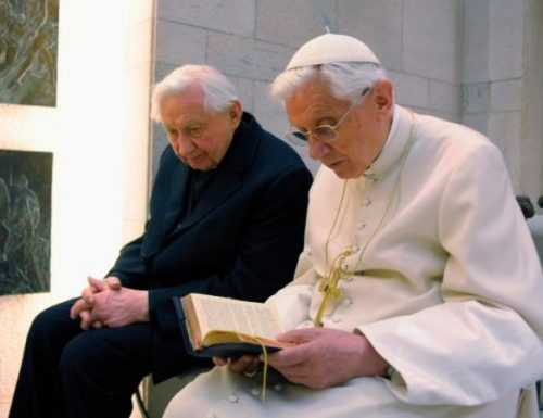 Benedetto XVI si reca a Ratisbona per visitare il fratello malato