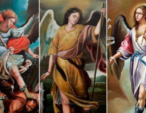 Quod devotio orationis, et ad Archangelos pertinet sanctus Michael, Gabriel, Raphael