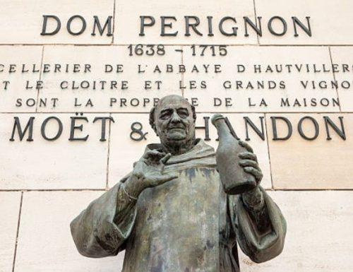 Valebis micantes fabulam Dom Perignon, monachus Benedictinus