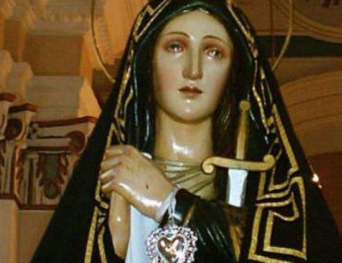 Devozione e preghiere alla Madonna Addolorata e la rivelazione di Santa Brigida