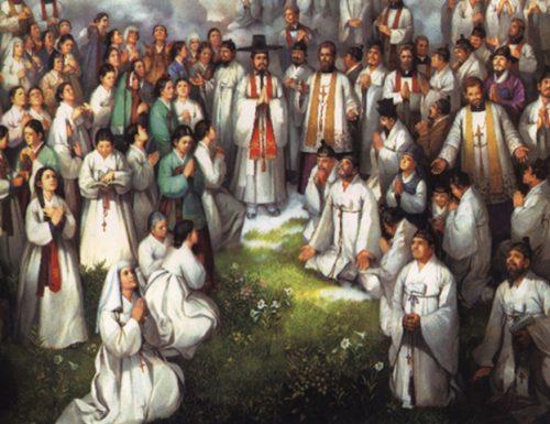 Saints Andrew Kim Taegon, Paul Chong Hasang na ndị enyi dị nsọ nke ụbọchị maka Septemba 20