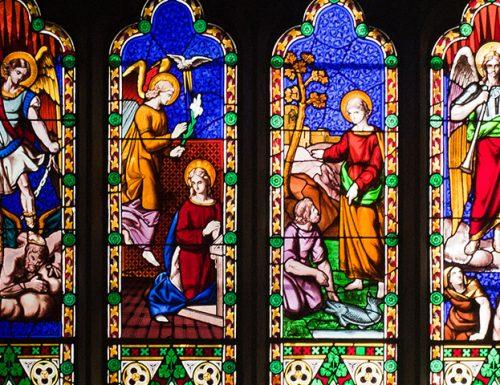Sancti Michael, Gabriel, Raphael testamur ad XXIX Septembris diei S.