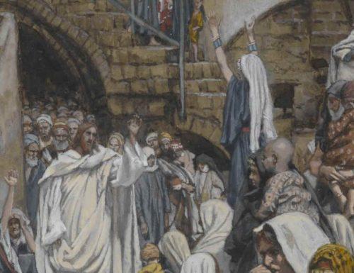 Rifletti, oggi, sull'ascolto e sull'osservazione e se ti lasci coinvolgere da Gesù
