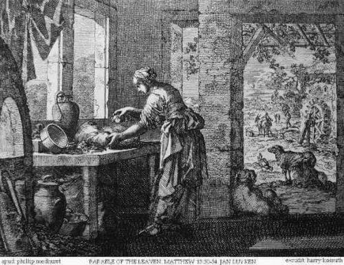 """Rifletti, oggi, su questa immagine del Vangelo """"il lievito che fa lievitare la pasta"""""""
