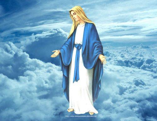 د ورځې وقف: روح د مریم سره راټول شو
