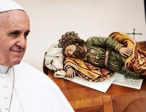 Ekpere nke Pope Francis na Saint Joseph