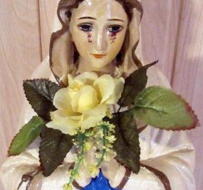 Polonia: la statua della Vergine Maria versa lacrime di sangue