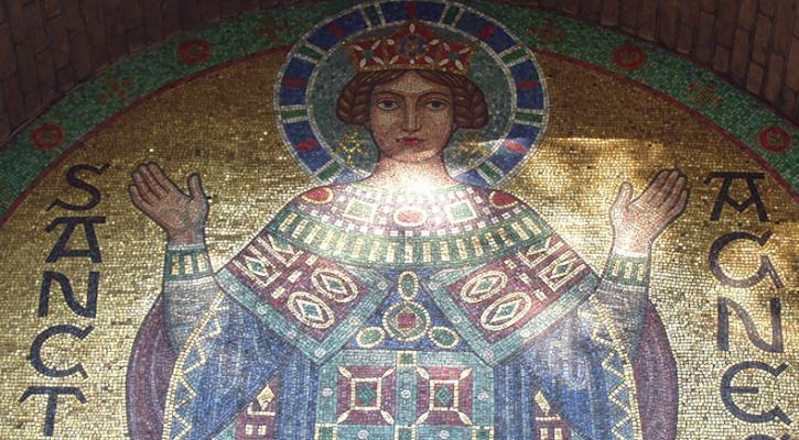 Santo del giorno per il 21 gennaio: storia di Sant'Agnese