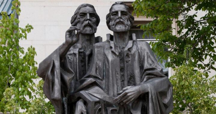 Santo del giorno per il 14 febbraio: storia dei santi Cirillo e Metodio