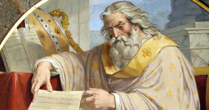 Doa Saint Ambrose: Pengabdian kepada Yesus Kristus!