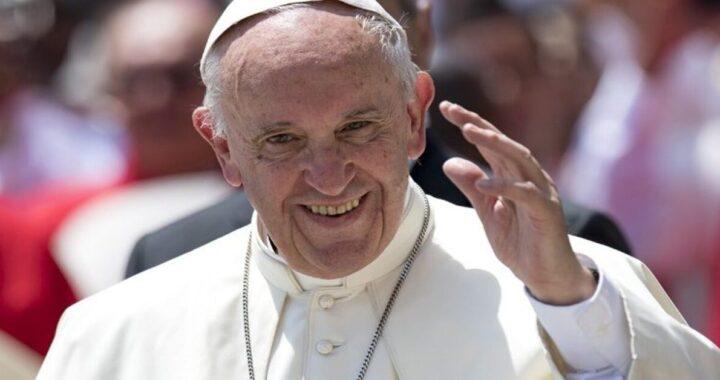 Isikhumbuzo sokuphathwa kukaPapa Francis