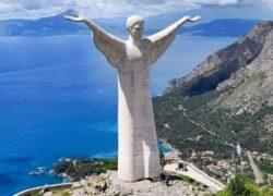 Il Cristo sul monte S. Biagio
