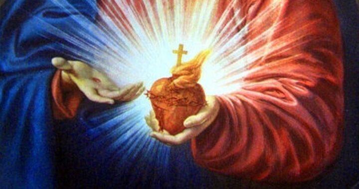 د عیسی مقدس Eucharistic زړه ته وقف