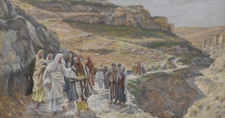 Meditazione: di fronte alla croce con coraggio e amore