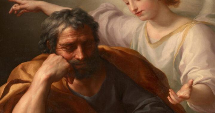 Naomh an latha: Saint Joseph, cèile Màiri
