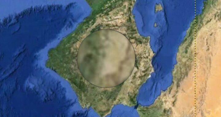 Volto di Gesù Cristo trovato sulla mappa di Google Earth, il video