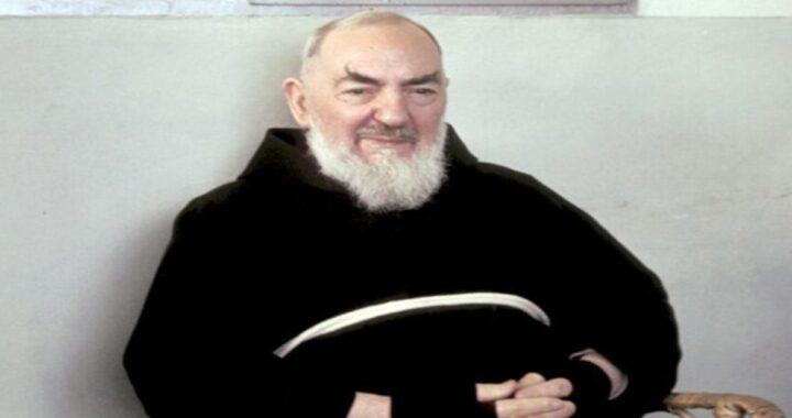 Et factus est cogitatus XIV Aprilis in Padre Pio: MMXXI et super hodierno evangelio