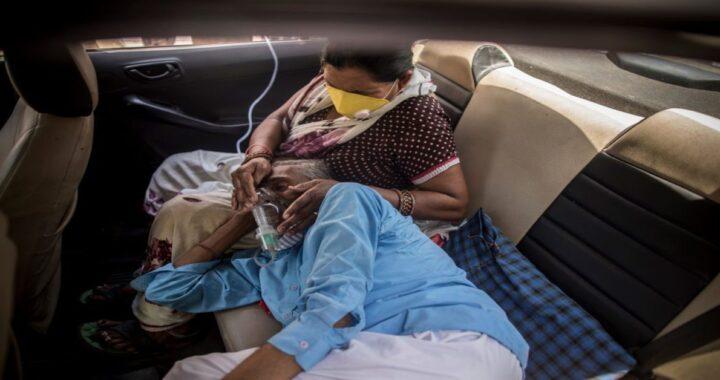 ఇండియా హాస్పిటల్ ప్రాణవాయువును కనుగొనడానికి ప్రజలను పంపుతుంది