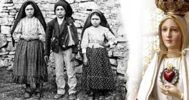 Oggi, il 13 maggio, è la festa della Madonna di Fatima
