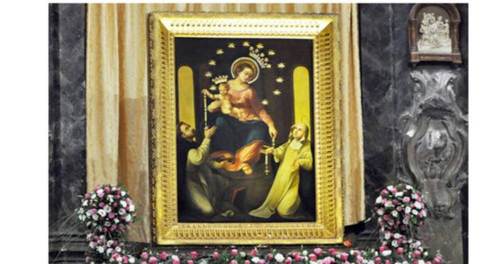 زموږ د پومپيې میرمنې ته دعا: د می 8 ، د فضل ورځ ، د مریم ورځ