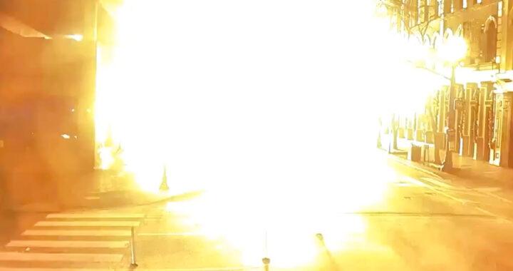 Poliziotto sente la voce di Dio poco prima l'esplosione di una bomba (VIDEO)